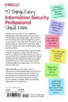 97 Things Every Information Security Professional Should Know: Collective Wisdom from the Experts [1ed.]  1098101391, 9781098101398