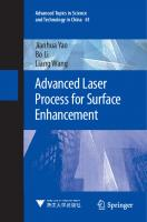 Advanced Laser Process for Surface Enhancement (Advanced Topics in Science and Technology in China, 61) [1st ed. 2021]  9811596581, 9789811596582