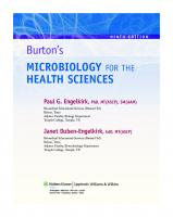 Burton's Microbiology for the Health Sciences, 9th Edition   [9th Edition]  1605476730, 9781605476735