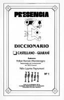 Diccionario castellano - guaraní