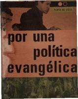 Por Una Politica Evangelica