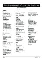 Rawlinsons Australian construction handbook 2021 [39ed.]  9781922443052, 1922443050
