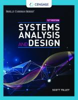 Systems Analysis and Design [12ed.]  0357117816, 9780357117811