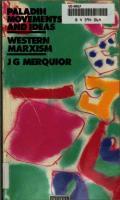 Western Marxism  9780586084540, 0586084541